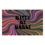 Hippy at Heart 60s Retro Posters