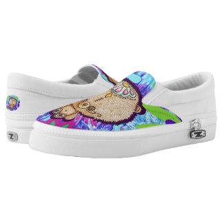 Hippy Bear Slip-On Shoes