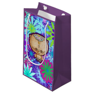 Hippy Bear Small Gift Bag