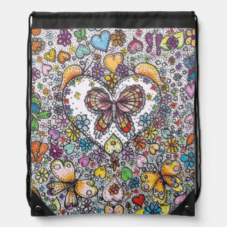 Hippy Butterfly Backpack