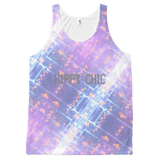 Hippy Chic All-Over Print Tank Top
