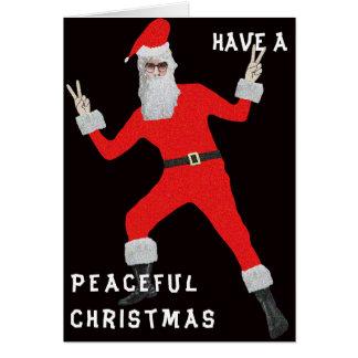 Hippy Christmas Card