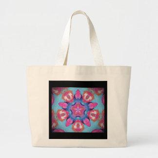 Hippy Design Canvas Bag