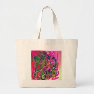 hippy flower design bags