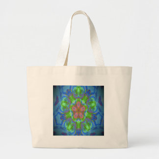 Hippy Flower Design Canvas Bags