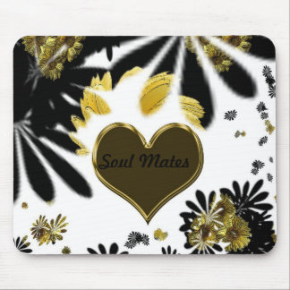 """Hippy Flower passion""* Mouse Pad"