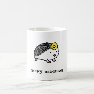 HIPPY HEDGEHOG! center image | mug
