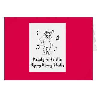 Hippy Hippy Shake Card