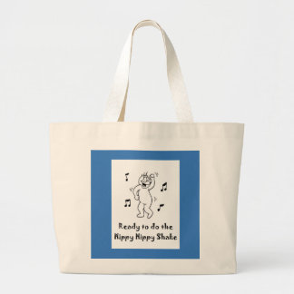 Hippy Hippy Shake Large Tote Bag