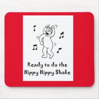 Hippy Hippy Shake Mouse Pad