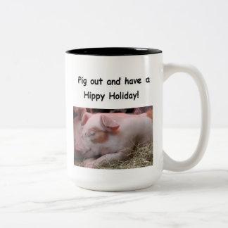 Hippy Holiday mug