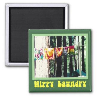 Hippy Laundry Magnet