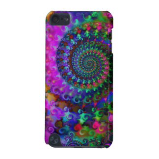 Hippy Rainbow Fractal Pattern iPod Touch (5th Generation) Covers