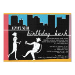 Hipster 1960's Birthday Party Invitation