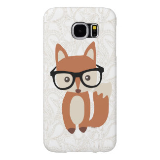 Hipster Baby Fox w/Glasses Cute