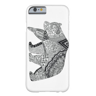 Hipster Bear Barely There iPhone 6 Case