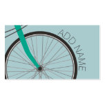 Hipster Bicycle Wheel with Custom Name Pack Of Standard Business Cards
