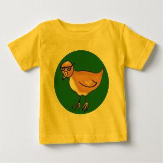Hipster Bird Baby T-Shirt