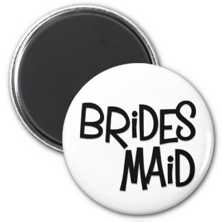 Hipster Bridesmaid Magnet