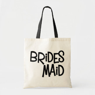 Hipster Bridesmaid Tote Bag