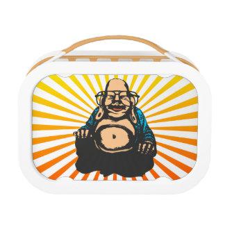 Hipster Buddha Lunch Box