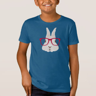 Hipster Bunny Tshirt