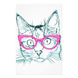 Hipster Cat 14 Cm X 21.5 Cm Flyer