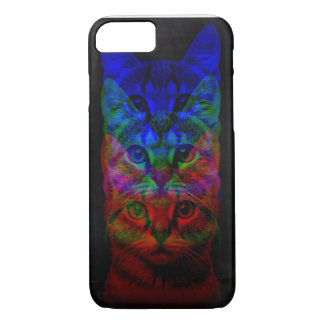 HIPSTER CAT ART iPhone 7 CASE
