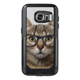 Hipster Cat OtterBox Samsung Galaxy S7 Case