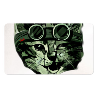 HIpster Cat Pack Of Standard Business Cards