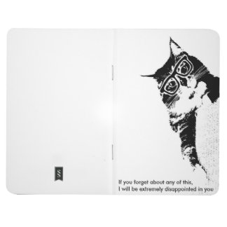 Hipster Cat Pocket Notebook