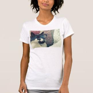 hipster cat tee shirt
