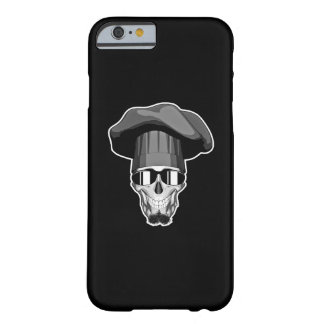 Hipster Chef Skull Barely There iPhone 6 Case