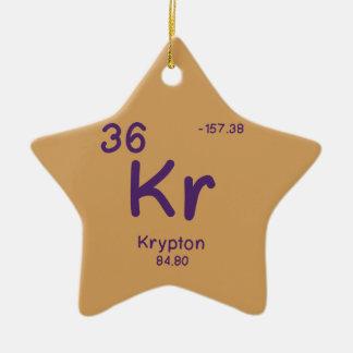 Hipster Chemistry Christmas Ornament