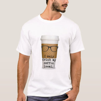 Hipster Coffee Shirt
