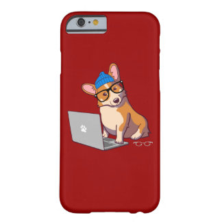 Hipster Corgi 2 Barely There iPhone 6 Case