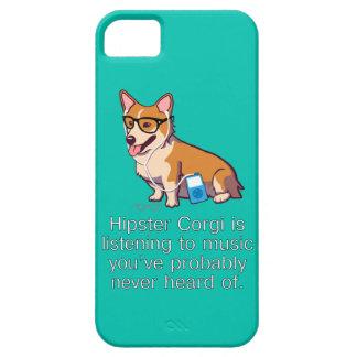 Hipster Corgi iPhone 5 Cases