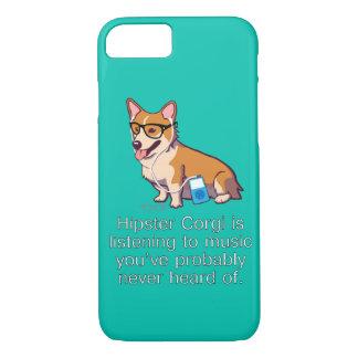 Hipster Corgi iPhone 7 Case