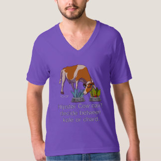Hipster Cow T Shirts