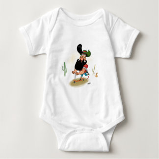 Hipster Cowboy Baby Bodysuit