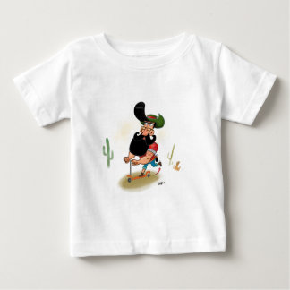 Hipster Cowboy Baby T-Shirt