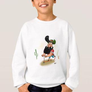 Hipster Cowboy Sweatshirt
