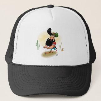 Hipster Cowboy Trucker Hat