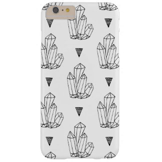Hipster Crystals Doodle Barely There iPhone 6 Plus Case