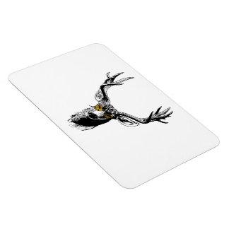 Hipster Deer Vinyl Magnet