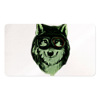 Hipster Dog Style Pack Of Standard Business Cards