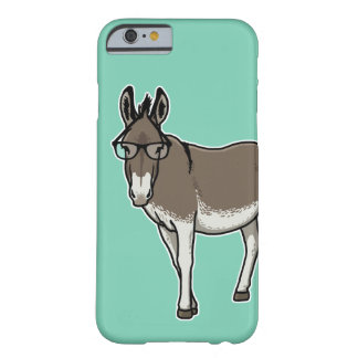 Hipster Donkey Barely There iPhone 6 Case