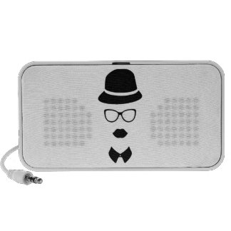 Hipster Face Doodle by OrigAudio™ Speaker