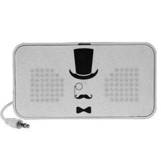 Hipster Face Doodle by OrigAudio™ Speaker System