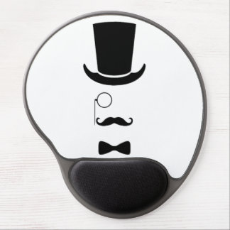 Hipster Face Gel Mousepad